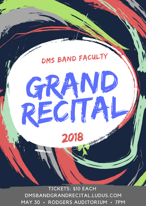 Faculty Grand Recital Poster 2018x500